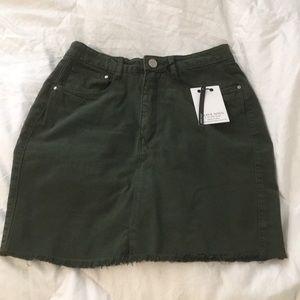NWT Nasty Gal Mini Skirt